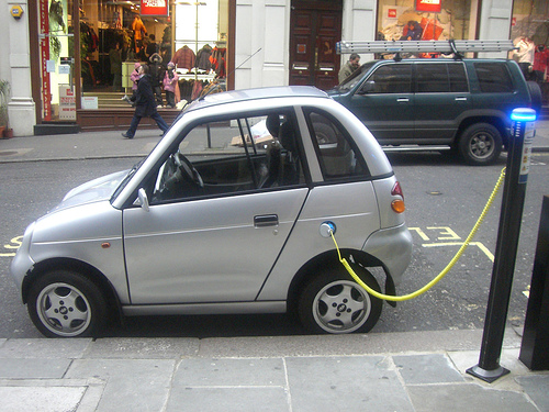 Electric Car can help much in the environment.