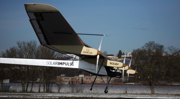 After 6 years, Solar Impulse prototype passes first test with global flight planned for 2012.