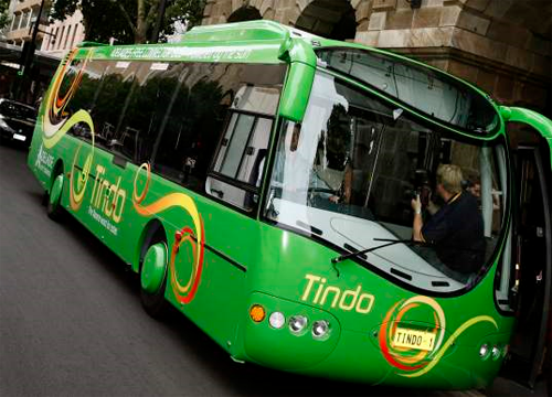 solar powered bus