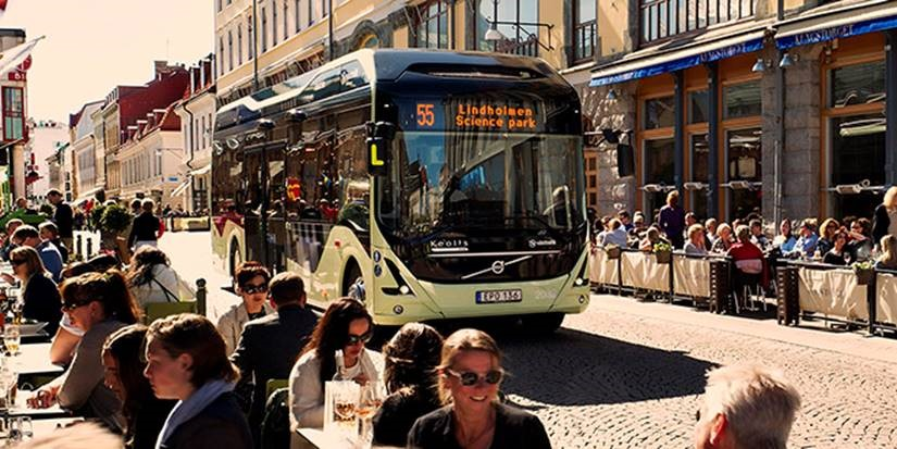 volvo electric bus 2