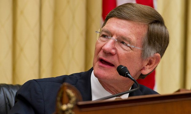 House Science Committe Chairman Lamar Smith (R-TX) is coming to the defense of fossil fuel companies that are accused of deceiving the public on climate change to maximize their own profits. Photograph: Scott J. Ferrell